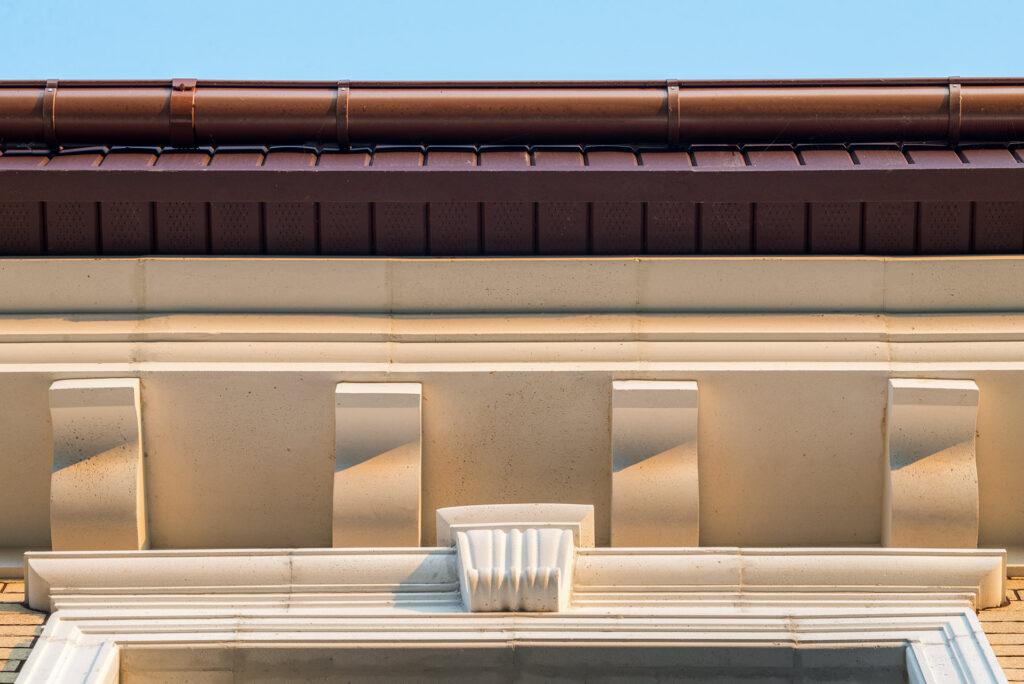 Архитектурная съемка для компании «ИнБетон», производителя архитектурного фасадного декора.