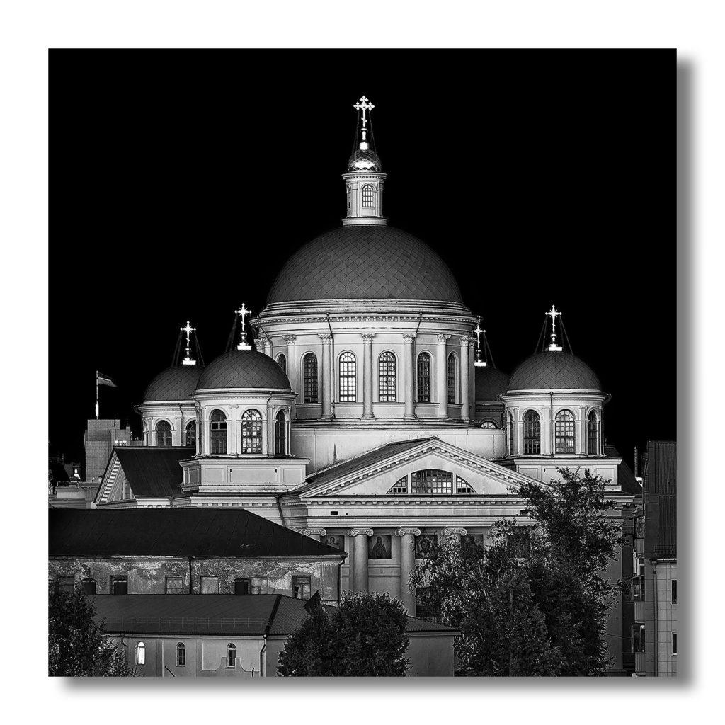 Собор Казанской иконы Божией Матери, Казань, Россия. 2020 ⠀ Cathedral of the Kazan Icon of the Mother of God, Kazan, Russia. 2020